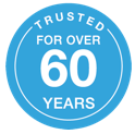 Trusted for over 60 years